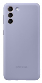 Samsung Silicone Back Case For Samsung Galaxy S21 Plus Violet
