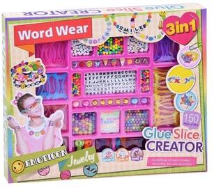 Apyrankių gaminimo rinkinys Word Wear Glue Slice Creator