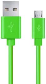 Esperanza Cable USB to USB-micro Green 0.5m