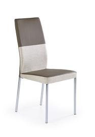 Svetainės kėdė K173, smėlio/ruda