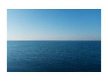 Signal Meble Sea View Glass Painting 120x80cm