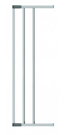 Clippasafe Swing Shut Extendable Gate Extension 18cm Silver 9571
