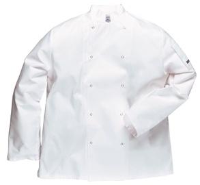 Viesnīcu Tekstils Chef Jacket Suffolk L White