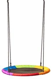 Woody Big Round Swing Rainbow 100cm 91417