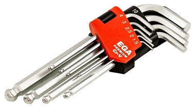 Ega Premium Hex Key Set Long 1.5-10mm