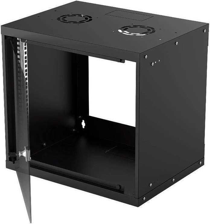 "Серверный шкаф Intellinet 19"" Basic Wallmount Cabinet Black"