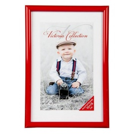 Victoria Collection Future Photo Frame 10x15cm Red