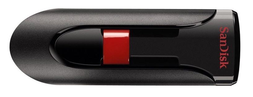 USB atmintinė SanDisk Cruzer Glide, USB 2.0, 64 GB