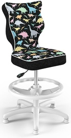 Детский стул Entelo Petit Black HC+F Size 3 ST30, черный/многоцветный, 300 мм x 895 мм
