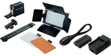 Video valgustus Falcon Eyes Video Light With Battery DV-96V-K2