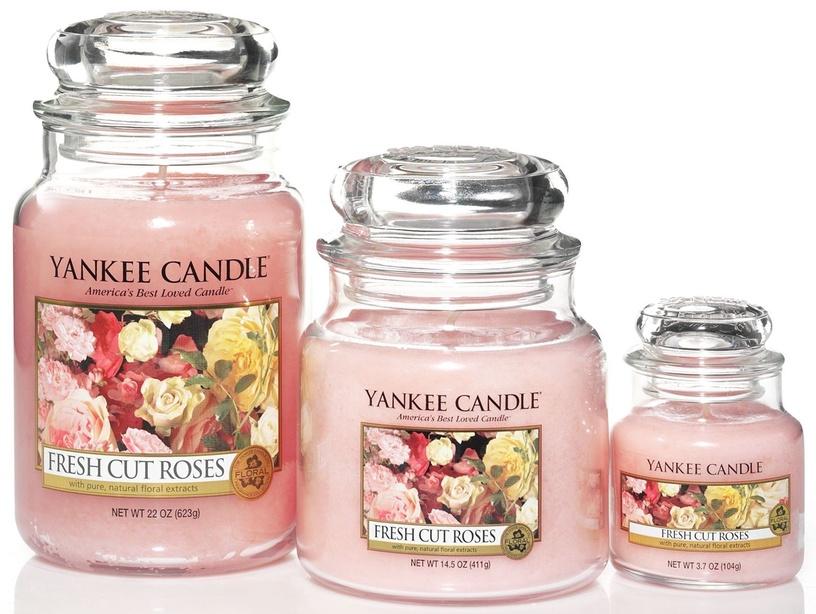 Yankee Candle Classic Large Jar Fresh Cut Roses 623g