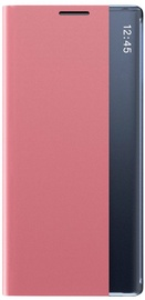 Hurtel Sleep Bookcase For Samsung Galaxy A70 Pink