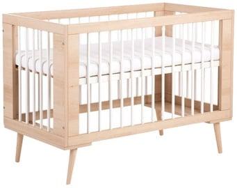 Детская кровать Klups Sofie Bed Beech/White, 124x66 см