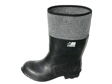 Guminiai batai su veltiniu L MOD, 45 dydis