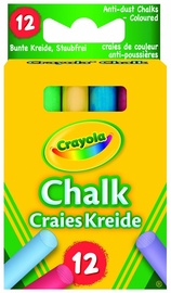 Crayola Anti-Dust Chalk 12pcs