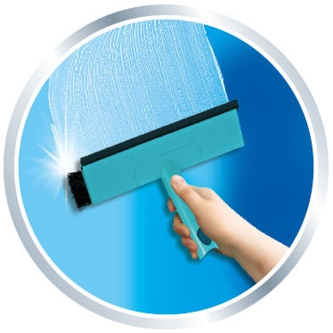 Leifheit Window Cleaner with Brush 110-190cm 51104