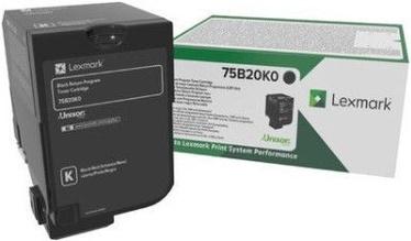 Lexmark 13K Black Return Program Toner Cartridge 75B20K0