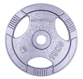 inSPORTline Hamerton Steel Plate 15kg