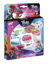 Totum Trolls World Tour Rock Rainbow Spraypens 770256