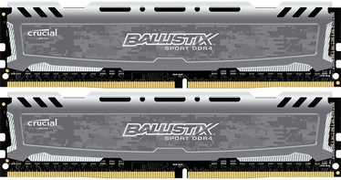Crucial Ballistix Sport LT Gray 32GB 3000MHz CL16 DDR4 KIT OF 2 BLS2K16G4D30BESB