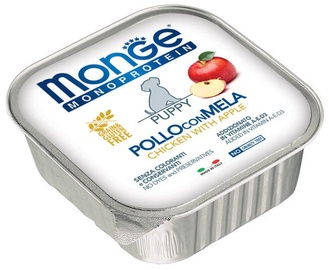 Monge Monoproteinic Fruits Puppy Pate Chicken/Apple 150g