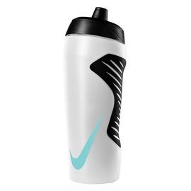 Dzeramā ūdens pudele Nike Hyperfuel, balta/melna, 0.53 l