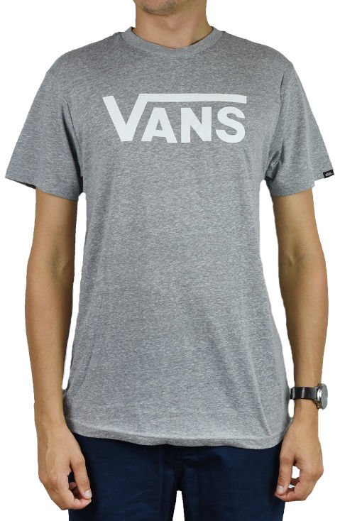 Футболка Vans Classic Heather Athletic Tee VN0000UMATH Grey XXL