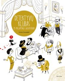 Knyga Detektyvų klubas. 25 paslaptingi galvosūkiai