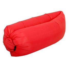 Täispuhutav madrats RoGer Air-Filled Pouf, punane, 2300x700 mm