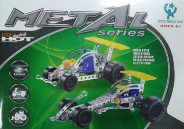 Pareto Centrs Metal Constructor Set Racing Car