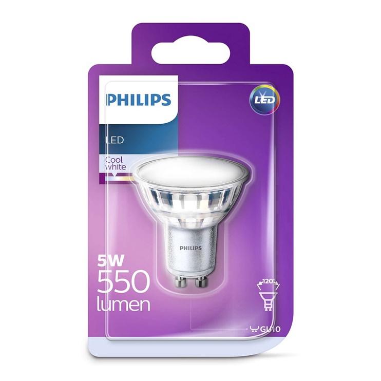 SP. LED PAR16 5W GU10 840 120° 550LM (PHILIPS)
