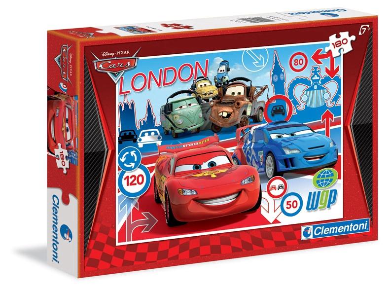 Puzle Clementoni SuperColor Disney Cars 07304, 180 gab.
