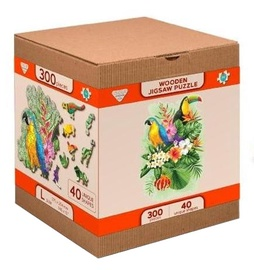 3D пазл Wooden City Tropical Birds L 993624, 300 шт.