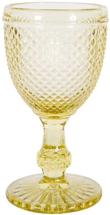 Home4you Glass Nantes 200ml Clear Yellow