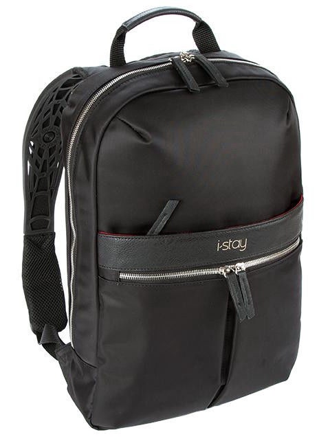 "i-stay Onyx IS0603 15.6"" Laptop Backpack Black"