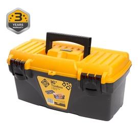 Forte Tools CS-16 Toolbox 410x209x195mm Black/Yellow