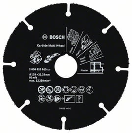 DISKS CIETMETĀLA MULTI WHEEL 125X22X1MM (BOSCH)