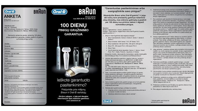 Braun BT5260 Beard Trimmer Black/Silver