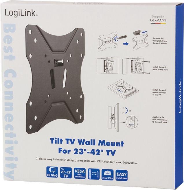 "LogiLink BP0005 TV Wall Mount 23–42"""