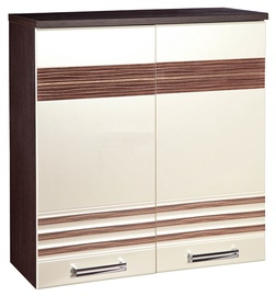 DaVita Rio 16.11 Kitchen Upper Cabinet Wenge Oak/Pearl