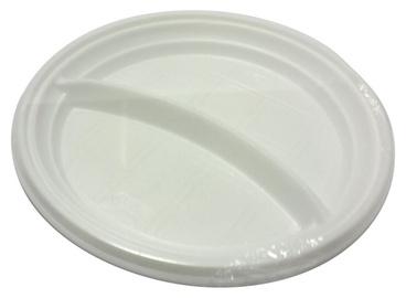 Vienkartinių lėkščių komplektas, Ø20 cm, 10 vnt, 2 dalių