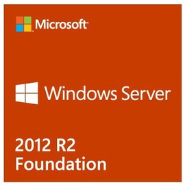 Microsoft Windows Server 2012 R2 Foundation DVD Year For HP 1-CPU ROK