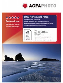AgfaPhoto Premium Satin Photo Inkjet Paper A4 260g 20pcs