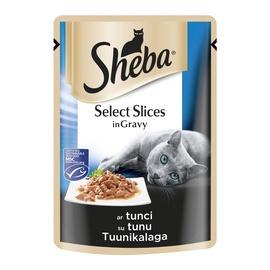 Konservuotas ėdalas katėms Sheba, su tunu, 85 gr