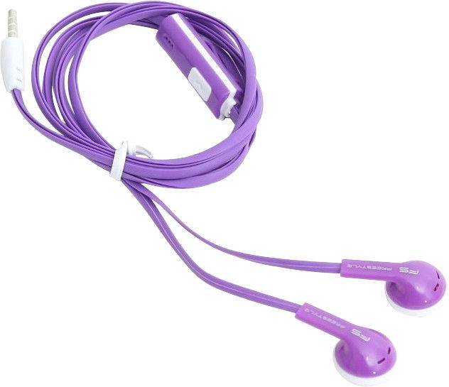 Omega Freestyle FH1020 Earbuds Purple