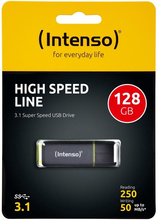 USB atmintinė Intenso High Speed Line, USB 3.1, 64 GB