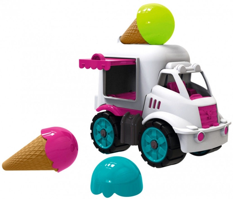 BIG Power Worker Mini Ice Cream Van