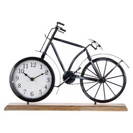 SN Table Clock Bike 42x7.5x29cm Black