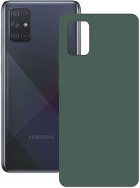 Ksix Silk Back Case For Samsung Galaxy A71 Green