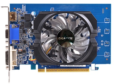 Gigabyte GeForce GT730 2GB GDDR5 PCIE GV-N730D5-2GIV2.0